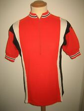 Agu sport red white black vintage Holland jersey shirt cycling maillot size XL