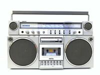 NATIONAL PANASONIC RX-5150 BOOMBOX STEREO Radio Cassette Vintage WORK Good Look