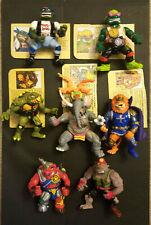 TMNT Teenage Mutant Ninja Turtles 1990s Loose Figures w/ cards and accessories