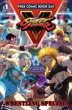 STREET FIGHTER V : WRESTLING SPECIAL - FCBD 2017 ISSUE 1 - UDON COMICS