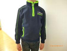 Pullover Nickiplüsch Jungen Gr. 122 blau