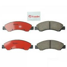 For Cadillac Chevy GMC Slotted Disc Brake Pad Set Front 6.2L V8 Brembo P10058N