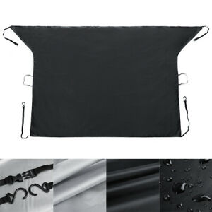 Car Windshield Snow Cover Magnetic Ice Frost Sun Shade Mirror Protector