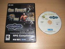 RPG COMPILATION Pc Cd Rom nm inc. 3 games - ARX FATALIS ARCHANGEL & GORASUL