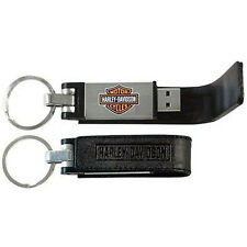 CHIAVE USB 8G HARLEY DAVIDSON PORTACHIAVI KEY RING SPORTSTER DYNA SOFTAIL GLIDE