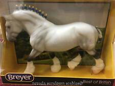 Breyer Model Horses Best of Britain White Gray Dapple Shire Gelding