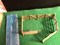 Vintage Britains Lead Farm. 6 X Identical Brown Hurdles . 1/32 Scale.