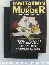 Invitation to Murder by Bill Pronzini (signed by 18 Authors , Limited #2 of 400)