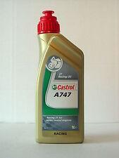 CASTROL A747 2T 2Takt Zweitakt Öl für den Rennsport Ester- Rizinusbasis 1 Liter