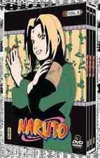 17190 // COFFRET 3 DVD NARUTO VOLUME 8 NEUF SOUS BLISTER