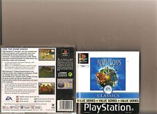 POPULOUS THE BEGINNING PLAYSTATION 1 PS1 PS 2 GOD SIM