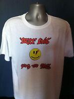 BOMB THE BASS T-SHIRT BEAT DIS Acid House Smiley Rave S-Express Hip Hop Dance