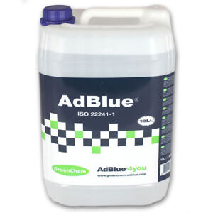 Greenchem AdBlue 10L + Pouring Spout 10Ltr For all Ad blue Vehicles 10 Litre