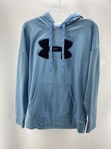 under armour mens cold gear hoodie sz M Blue