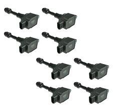 Set of 8 NGK Direct Ignition Coils for Infiniti QX56 Nissan Pthfinder 5.6L V8