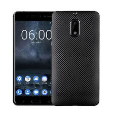 New Premium Carbon Fiber TPU Back Cover Case For Nokia 3 / 5 & 6
