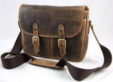 GreenBurry Kamera-Tasche Rind-Leder Schultertasche Fototasche Spiegelreflex 1594
