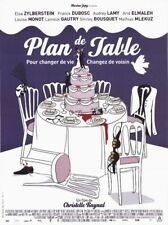 Affiche -  PLAN DE TABLE - 120x160cm