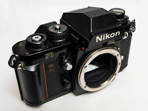 Nikon F3 35mm film SLR camera body – black – tested and working