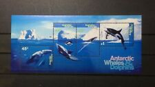 Australia Antarctic Territory 1995 Whales & Dolphins Minature Sheet MNH
