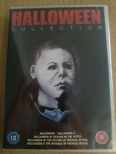 HALLOWEEN COLLECTION (John Carpenter) 1-5 DVD 5-Disc Box-Set *New & Sealed*