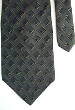 "Bill Blass Men's 100% Silk Neck Tie Olive Green Gray Classic 3 7/8"" x 58"""