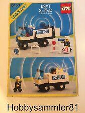 Lego® 6450 Legoland Bauanleitung Polizeiwagen Light&Sound