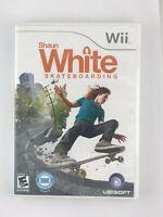 Shaun White Skateboarding - Nintendo Wii Game - Complete & Tested