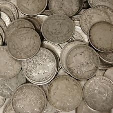 Pre-1904 VG-VF 90% Silver Morgan Dollar - RANDOM YEARS - USA ROUND BULLION COINS