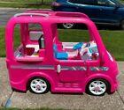 Power Wheels Barbie Dream Camper, Battery Powered Ride On Vehicle