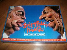 Spitting Image The Game Of Scandal Vintage Board Game Parker 1987 Complete VGC