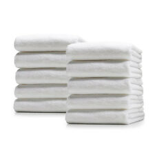10 x 100% Soft Cotton Terry Towels Absorbent Cloths Car Valeting Cleaning Waxing