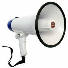 5 Core Pro Handheld Megaphone BullHorn Cheer Horn Loudspeaker Voice Record 20Ru