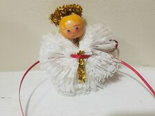 Vintage homemade ornament angel