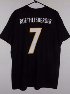Pittsburgh Steelers t shirt Ben Roethlisberger xl NFL name and number NWT