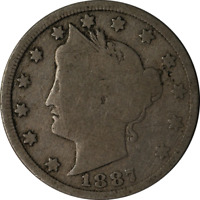 1887 Liberty V Nickel  Great Deals From The Executive Coin Company