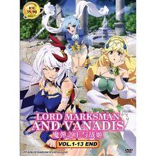 DVD Lord Marksman And Vanadis Vol 1-13 END English Sub