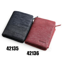 Men Women Leather Trifold Wallet Card Coin Holder Clutch Cash Money Purse Pocket