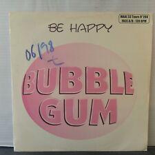 """Bubble Gum – Be Happy (Vinyl 12"""", Maxi 33 Tours)"""