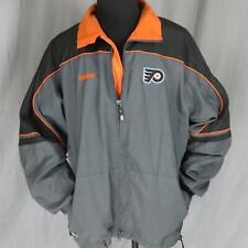 CCM Philadelphia Flyers NHL Windbreaker Men's Jacket XL Center Ice Authentic