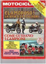 07 1983 - MOTOCICLISMO HONDA 650 - FANTIC 125 - VESPA PK 50 S - BMW 3 CILINDRI