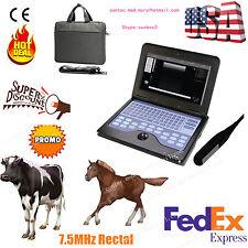 Vet Veterinary portable Ultrasound Machine For cow/horse/Animal,rectal probe