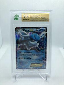 GEM MINT 9.5 Glaceon EX 20/124 XY Fates Collide HOLO RARE Pokemon Card