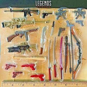 Marvel Legends Punisher Deadpool Cap gun sword katana weapon accessories UPICK