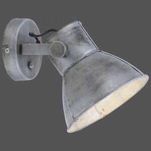 Wandleuchte Retrostil Vintage Eisen Industrial Design E27 Modern Lampe Leuchte