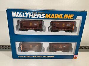 HO...Walthers DMIR ,DM&IR Taconite Ore Car Quad Set