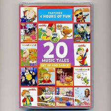 20 Music Tales, 4 hours of PBS Kids fun, new DVD, dance, Dinosaur, WordWorld, .