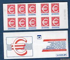 """Carnet - 3215c C1 - Timbre """"Euro"""" - Numéro 9862--3 - 3 fr 0,45 euro N° 3215 - NE"""