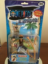 ONE PIECE ALL'ARREMBAGGIO MONKEY D LUFFY RUBBER NUOVO GIG
