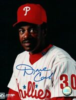 Dave Cash Signed 8X10 Photo Autograph Philadelphia Phillies Two Line Auto w/COA